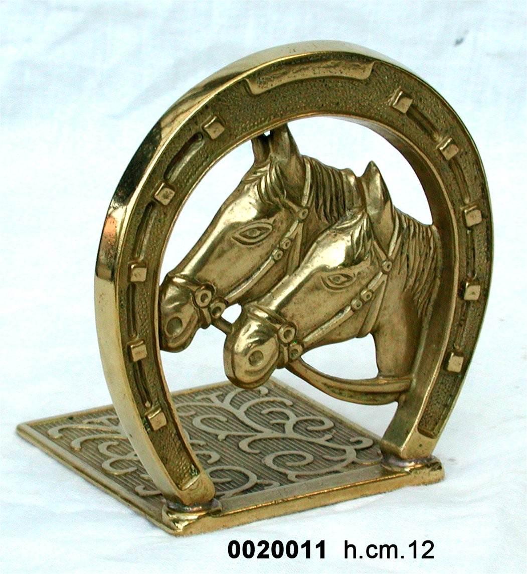 Antica soffitta fermalibri libri ferro di cavallo ottone - Divano a ferro di cavallo ...