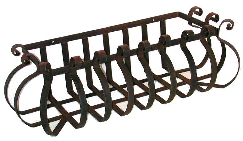 Antica soffitta portavasi 65cm ferro fioriere terrazzo for Fioriere in ferro