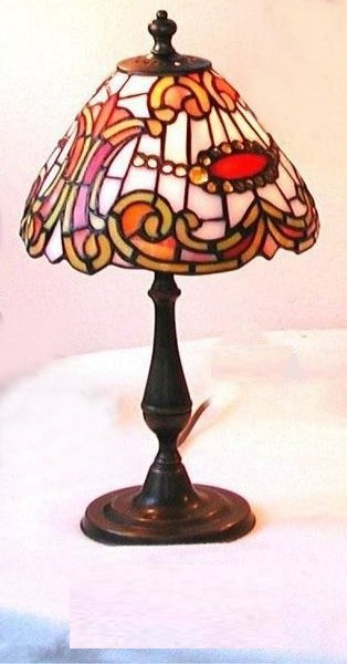 antica soffitta lampada tiffany 36cm bologna liberty vintage abat jour. Black Bedroom Furniture Sets. Home Design Ideas