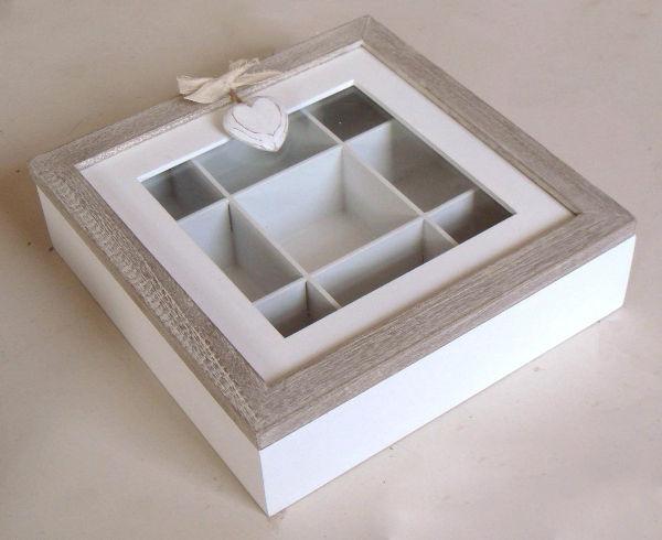 Scatole porta tea tovaglioli di carta - Porta tisane fai da te ...