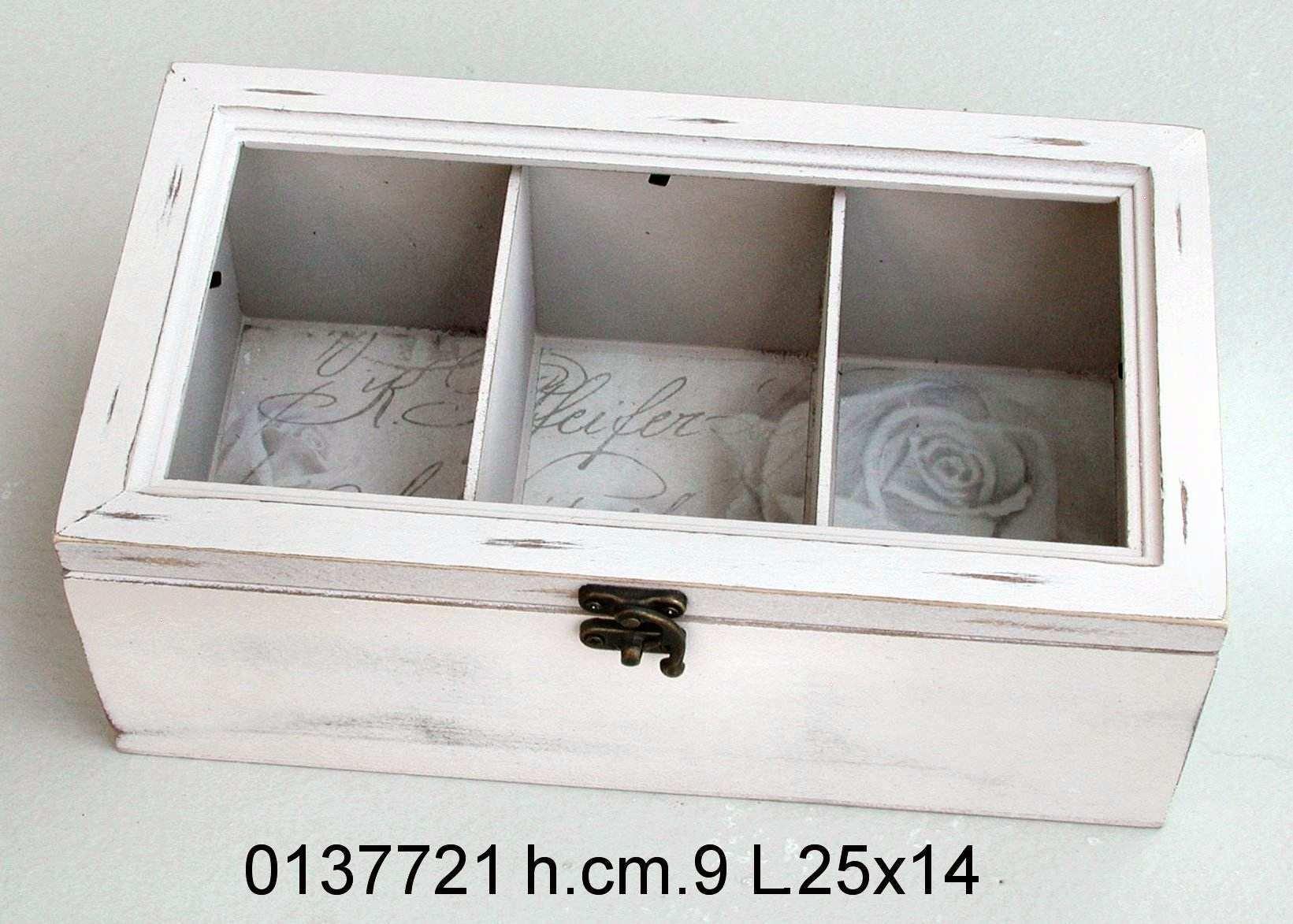 Antica soffitta scatola porta the t legno cuori tre - Porta per soffitta ...
