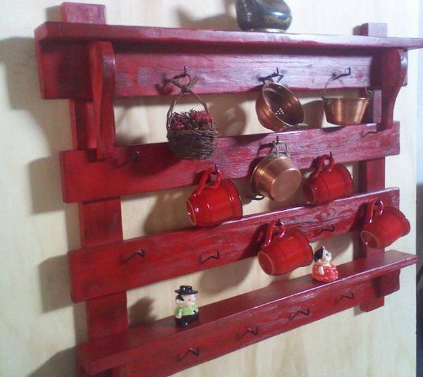 Antica soffitta mensola rustica porta tazze piattaia scaffale legno vecchio - Porta per soffitta ...