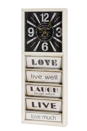 Antica soffitta orologio con portalettere porta lettere for Lavagna con orologio thun
