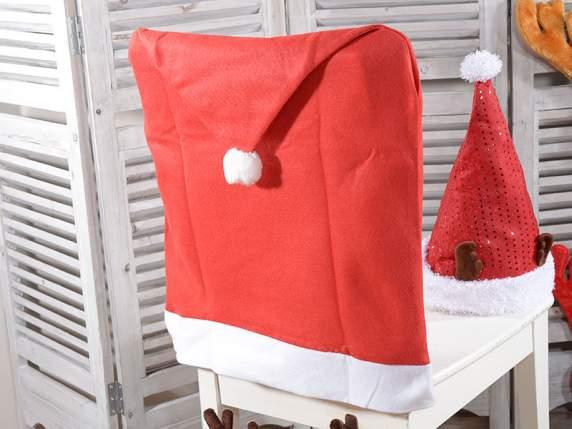 ... Set 4 Coprisedia Natalizio Natale Cappello Babbo Natale Panno ...