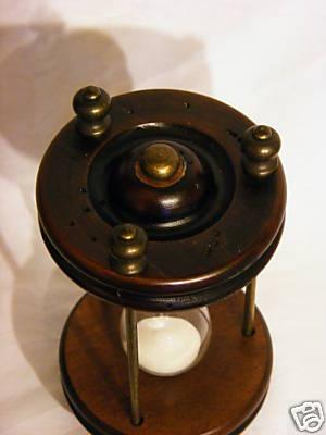 Antica soffitta clessidra da scrivania tavolo legno contaminuti regalo segnatemp - Clessidra da tavolo ...