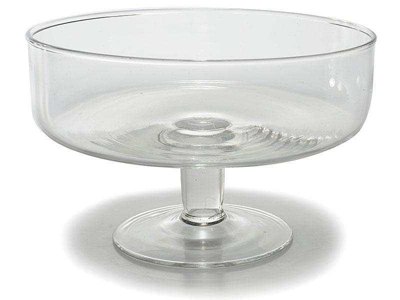 Frutta idee alzatina : Alzata portafrutta, dolci, centrotavola in vetro Misure: ? 19 cm x 12 ...