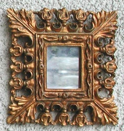 Antica soffitta arreda con stile for Specchi barocchi