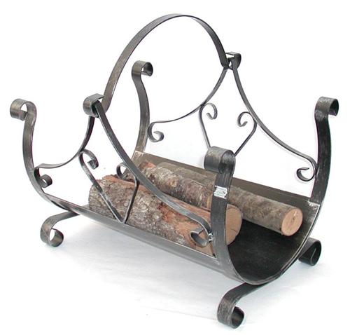 Antica soffitta - Portalegna in ferro battuto ...