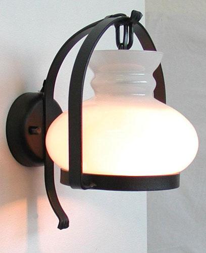 Antica Soffitta: Applique Country ferro battuto lampada da parete muro ...