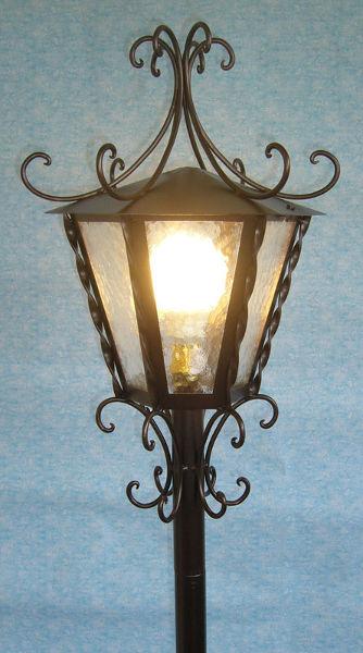 Antica soffitta lampione da giardino imperial esterno - Lampioni in ferro battuto da esterno ...