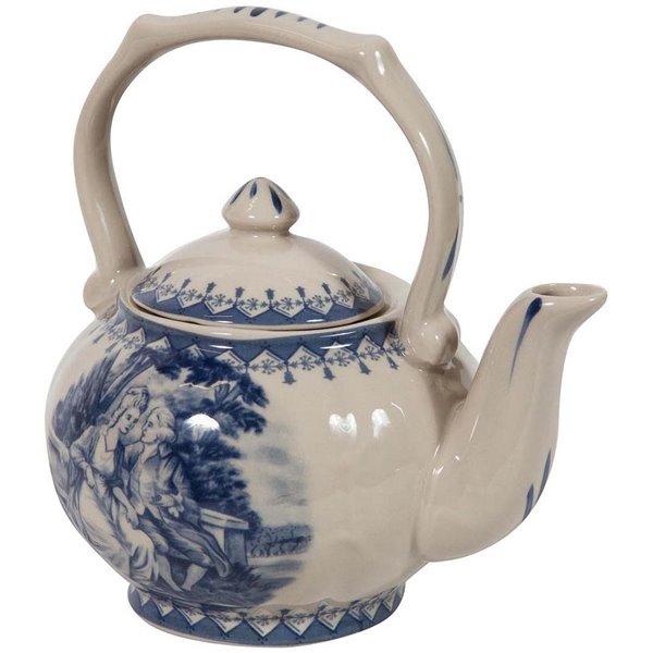 1,6 l Teiera in Ceramica con beccuccio antigoccia Urban Lifestyle con Filtro in Acciaio Inox Rot