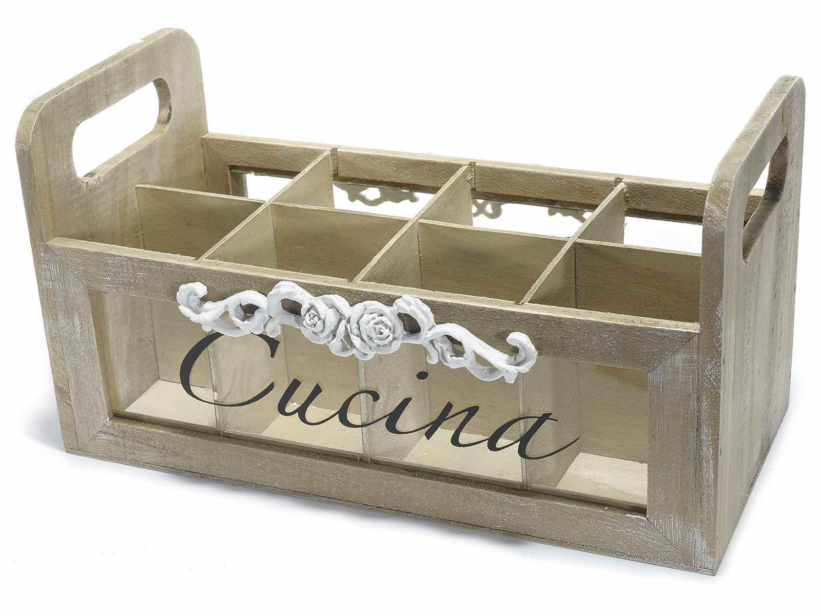 Antica soffitta contenitore portautensili porta utensili for Utensili cucina online shop