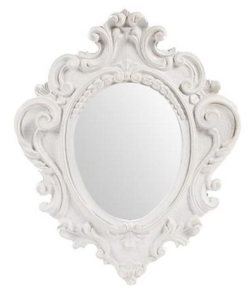 Antica soffitta arreda con stile - Specchio ovale shabby chic ...