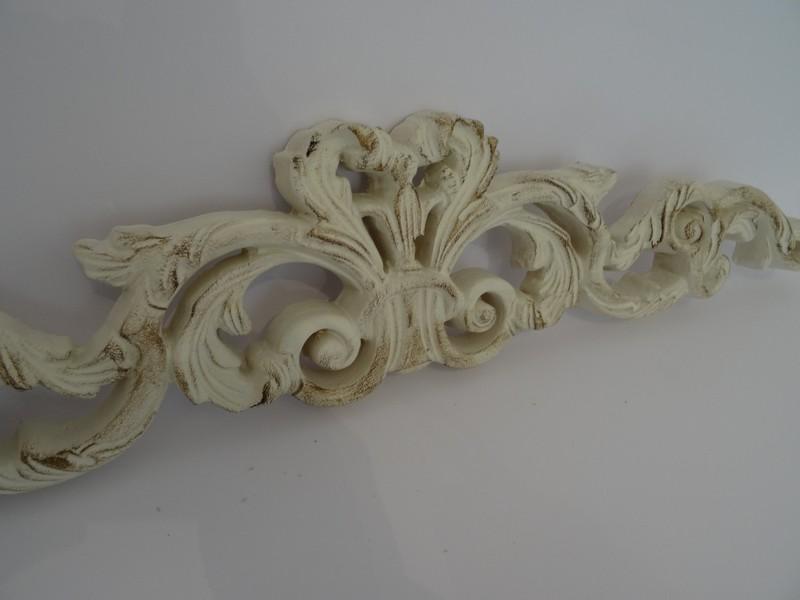 Antica soffitta fregio 78cm sopra porta cimasa frontone for Fregi decorativi