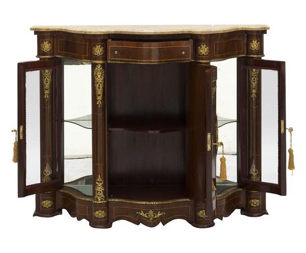 Credenza Antica Con Marmo : Antica soffitta: servante mobile credenza titanic noce beige legno