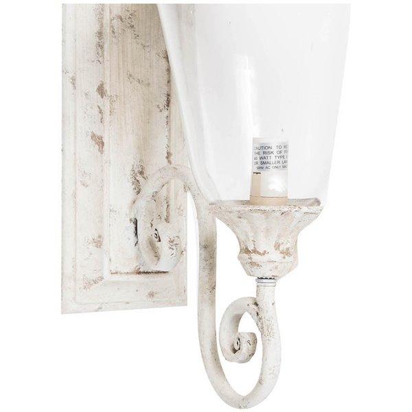 Antica soffitta applique a muro 54 5cm ferro shabby lampada parete esterno - Parete shabby chic ...