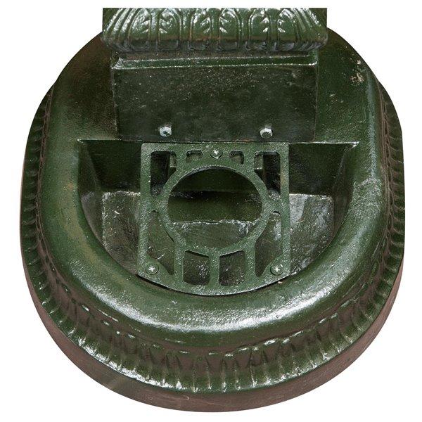 Fontane Da Giardino In Ghisa Usate.Antica Soffitta Fontana In Ghisa Da Esterno Giardino 100cm