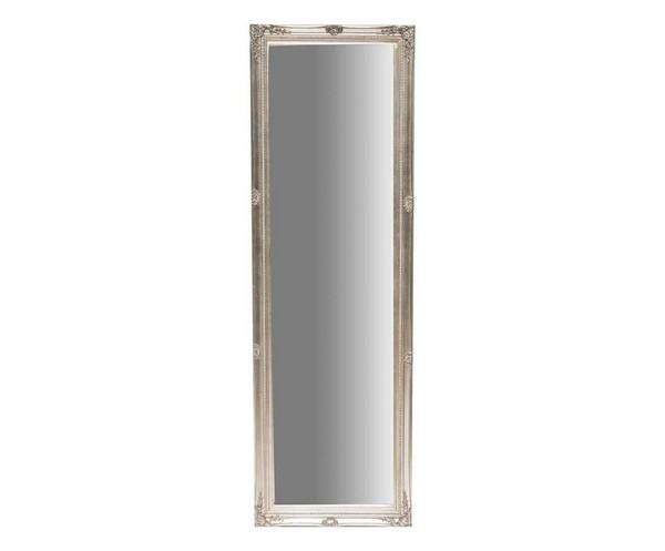 Antica soffitta specchio da parete in legno e poliresina argento barocco - Specchio barocco argento ...
