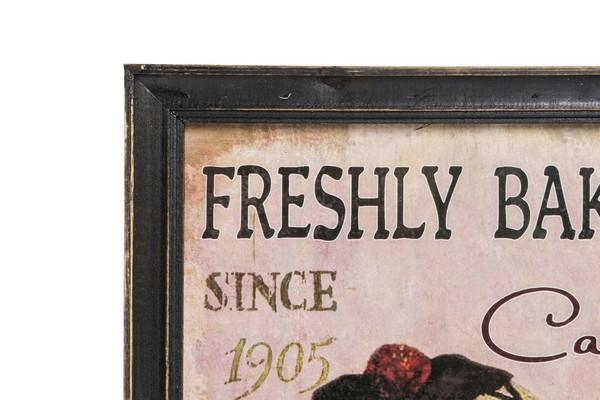 Antica soffitta pannello stampa targa quadro legno cucina for Targhe decorative in legno