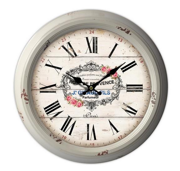 Antica soffitta orologio da parete shabby chic provenzale for Orologio shabby chic