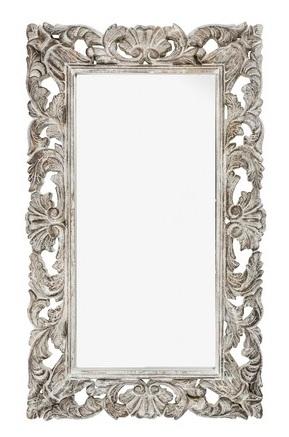 Antica soffitta specchio 115cm vintage bianco barocco - Specchio cornice nera barocca ...