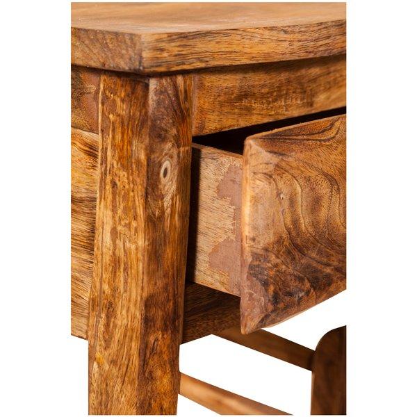 Antica soffitta comodino shabby chic in legno massello for Mobiletto camera