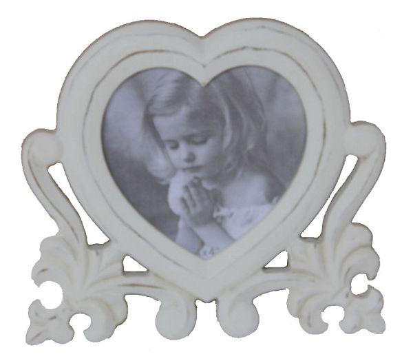 Antica soffitta portafoto cornice 16cm a forma di cuore - Porta per soffitta ...
