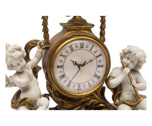 Lampadario Antico Con Angeli : Antica soffitta orologio resina barocco oro putti rococò angeli