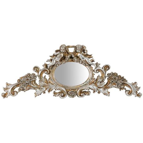 Antica soffitta arreda con stile - Specchio barocco argento ...