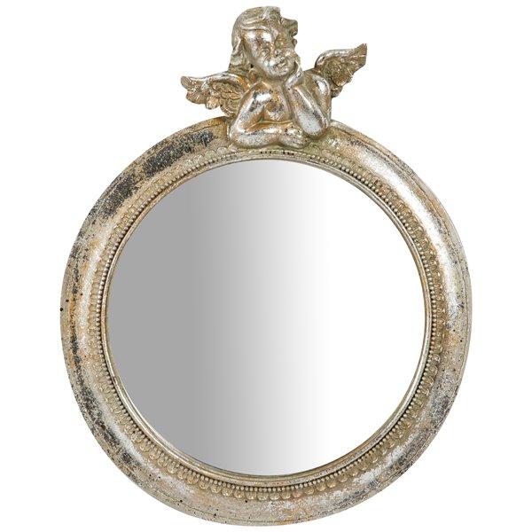 Antica soffitta arreda con stile for Specchio barocco argento