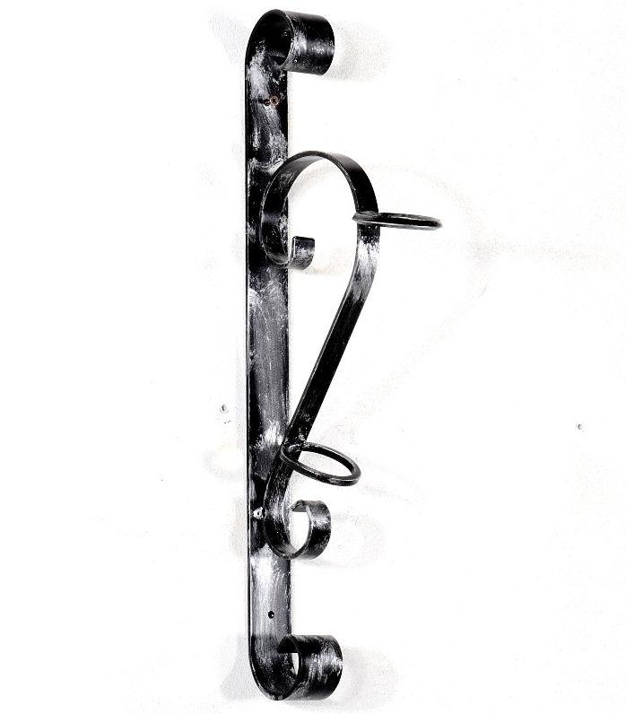 Antica soffitta porta bandiera torcia ferro battuto - Porta per soffitta ...