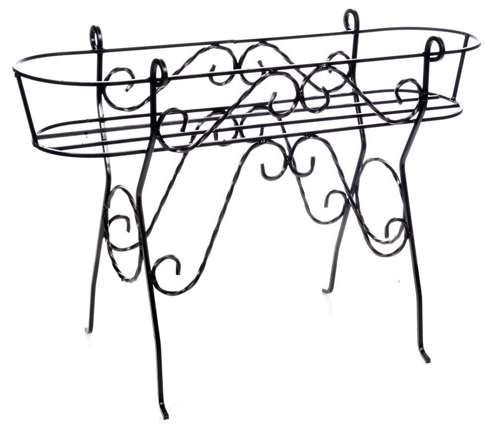 antica soffitta: porta cassetta 80cm da terrazzo vasi portavasi ... - Portavasi Balcone