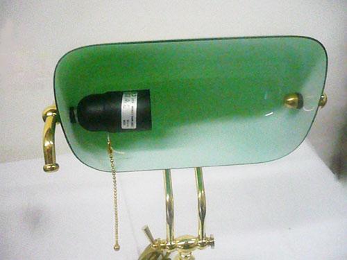 Lampada Ufficio Verde : Antica soffitta lampada ministeriale cm da scrivania ottone