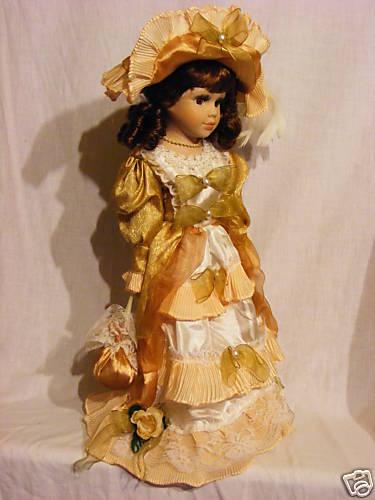 Antica Soffitta: * Bambola porcellana nastri decorazione ...