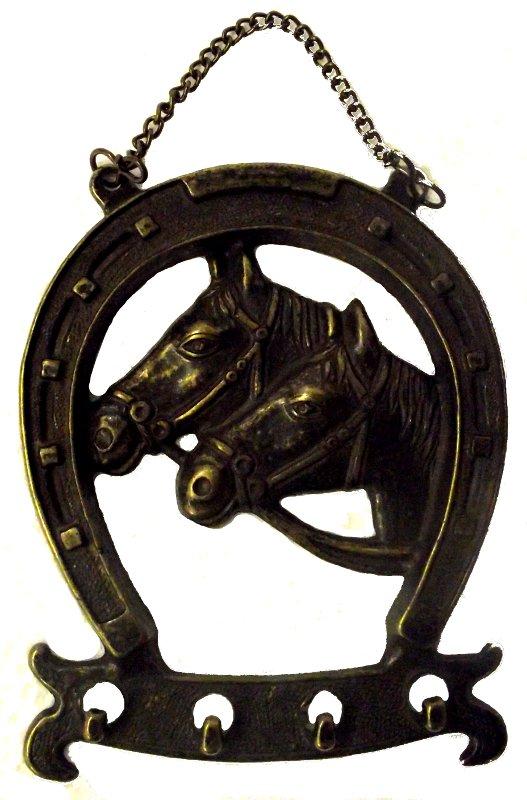 Antica soffitta appendini ferro di cavallo ottone gancio - Cucina a ferro di cavallo ...